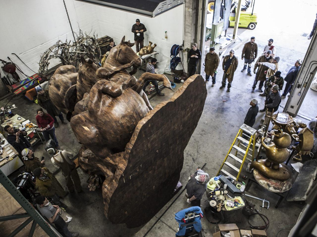 Sculpture a Walla Walla